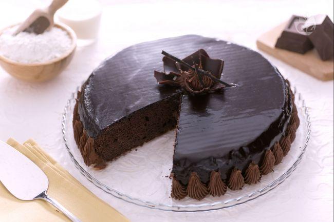 Torta golosa al cioccolato