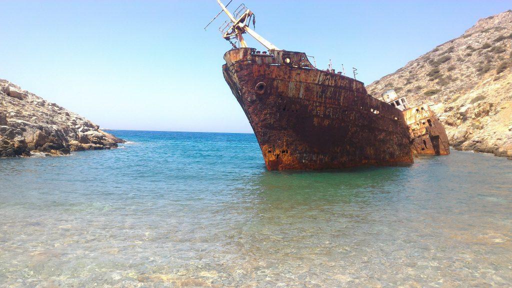 Relitto Olympia Amorgos