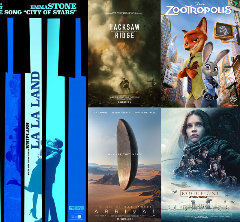 top 5 film 2016