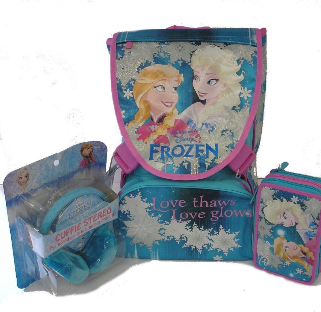 Zaino scuola Frozen