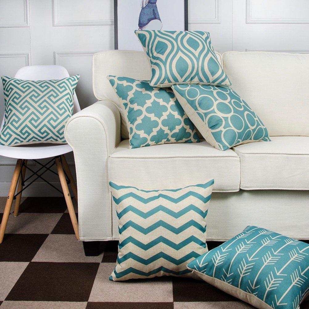 10 idee per arredare la vostra sala best 10 - Federe cuscini divano ...