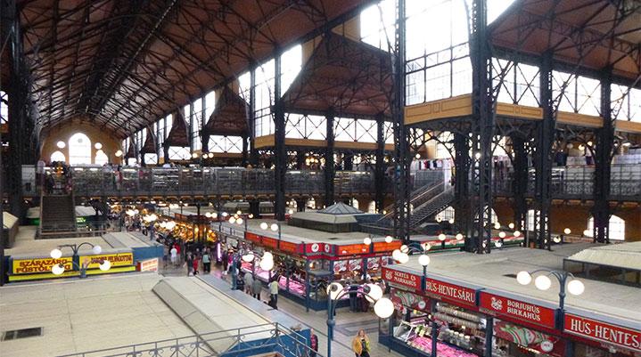 Cosa vedere a Budapest mercato