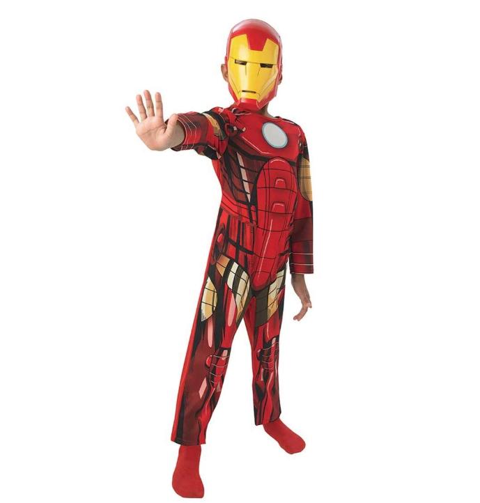 costume carnevale bambini iron man