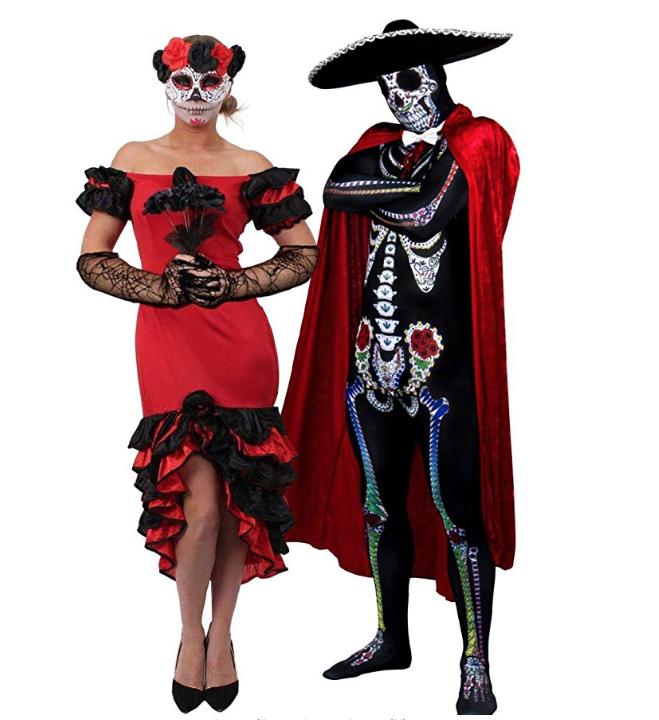 costume carnevale festa messicana