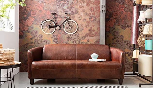 10 idee per decorare le pareti di casa - bicicletta