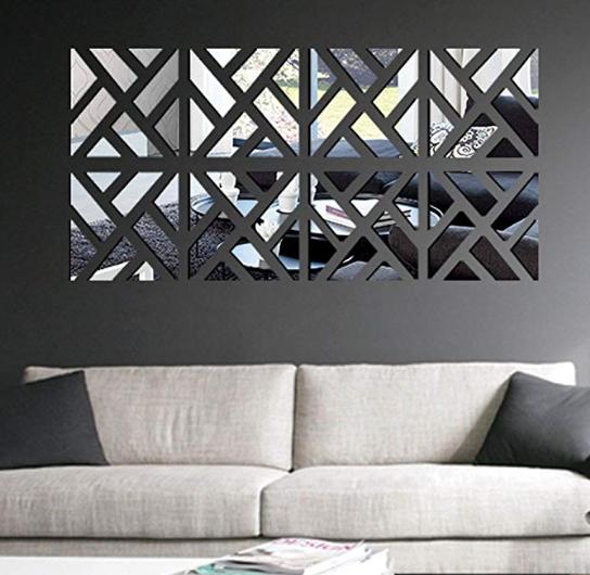 10 idee per decorare le pareti - specchi