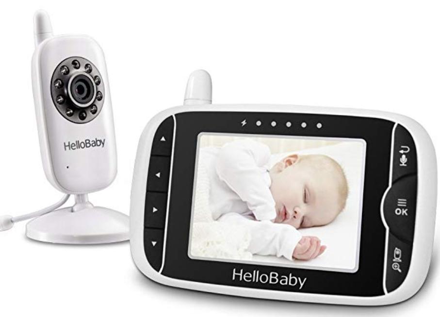 cosa mettere nella lista nascita - baby monitor