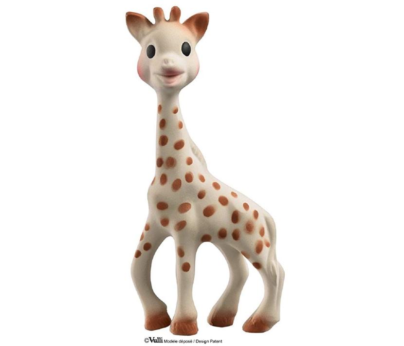 cosa mettere nella lista nascita - sophie la giraffa