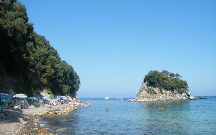 Le più belle spiagge dell'isola d'Elba - spiaggia la Paolina
