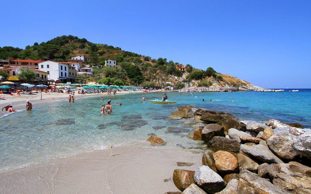 Le migliori spiagge dell'isola d'Elba - Sant'Andrea