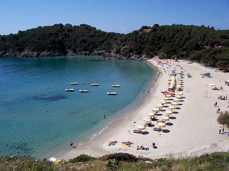 le migliori spiagge dell'isola d'Elba - spiaggia di Fetovaia