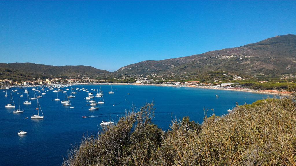 Le spiagge più belle dell'isola d'Elba - Marina di Campo