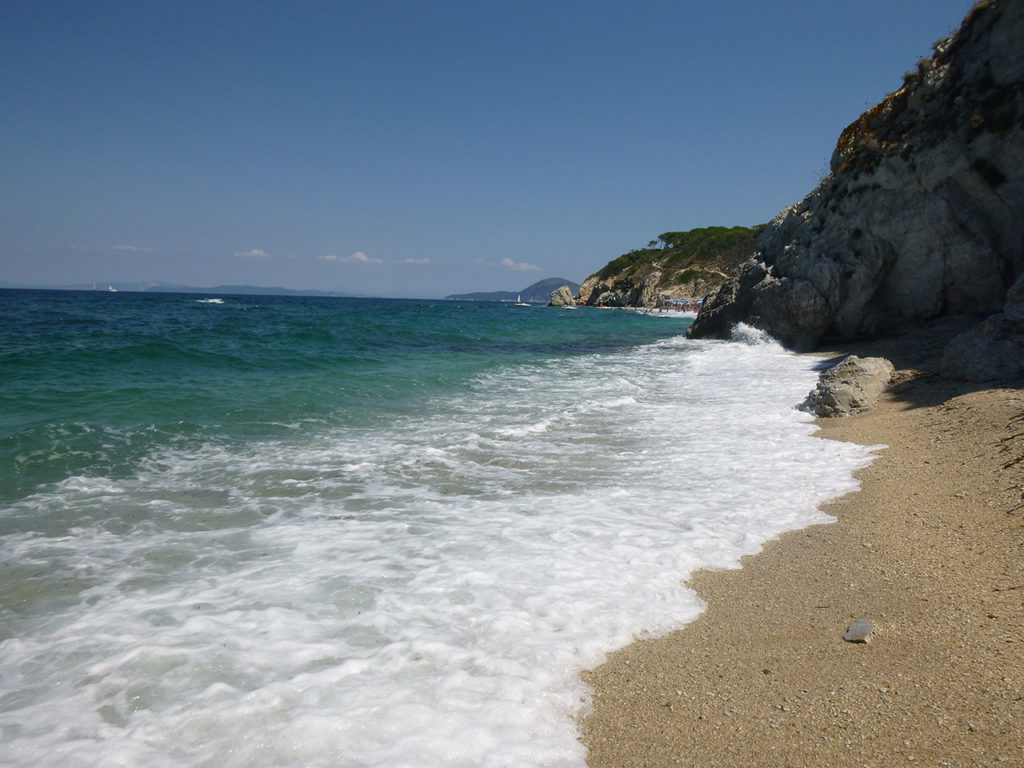 spiagge isola delba - spiaggia di sansone