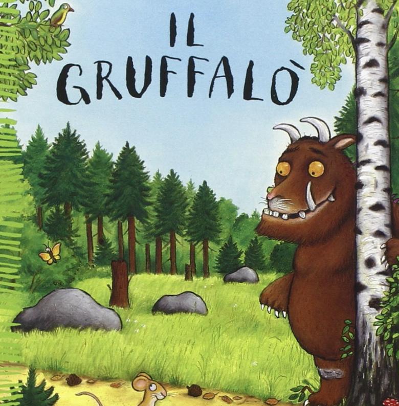 Il Gruffalò - libri per bambini