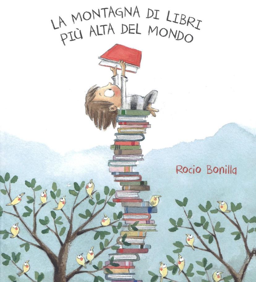 La montagna di libri più alta del mondo - libri per bambini