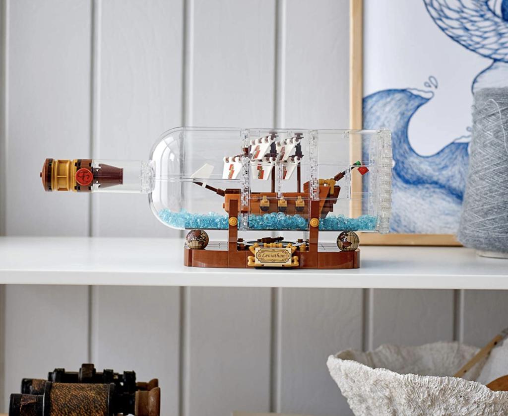 Lego Ideas nave in bottiglia - arredamento casa